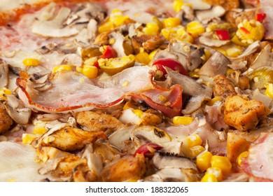 Image of fresh pizza