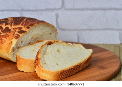 Image of fresh tiger bread from the bakery