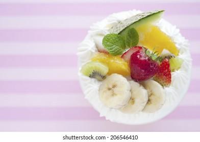 An Image of Fruit Shortcake