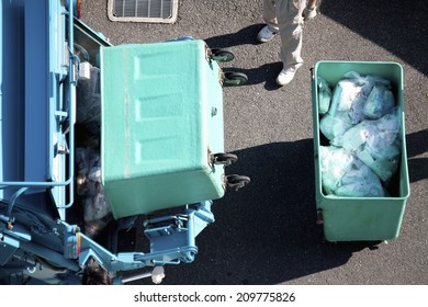 An Image of A Garbage