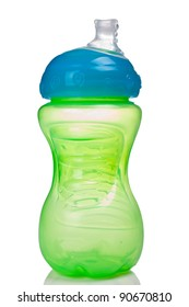 Image of a generic baby bottle or sippy cup.
