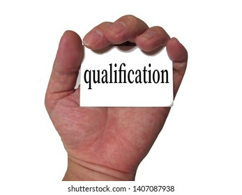 Image to get various qualifications