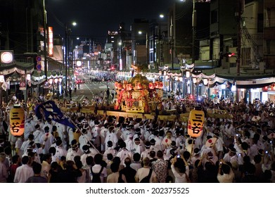 An Image of Gion Festival
