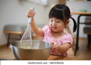 Image of a girl cooking