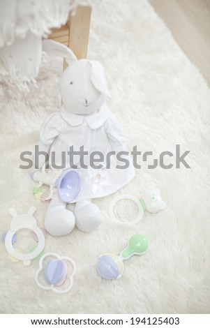 Giving birth a doll
