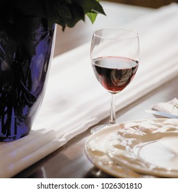 An image of Glass of wine