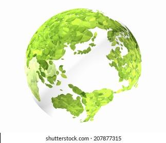 An Image of Globe Leaf