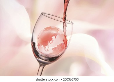 An Image of Globe And Wine