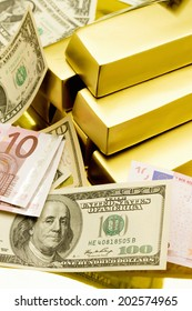 An Image of Gold Bullion