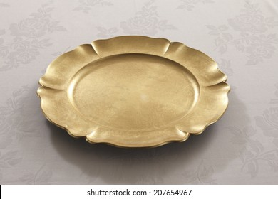 An Image of Gold Dish