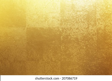 An Image of Gold Folding Screen