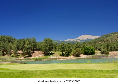 An image of a gorgeous view from an Arizona golf course