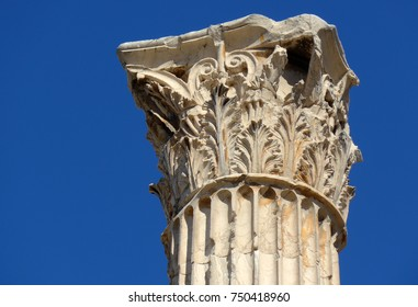 Image of Greek column top