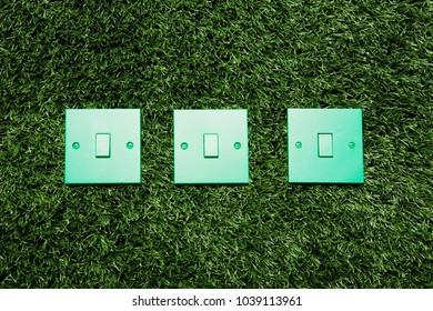 An image of Green light switches