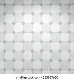 An image of a grey kitchen tiles background