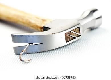 image of hammer  close up