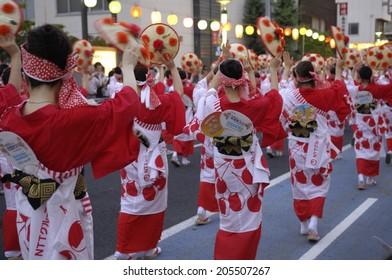 An Image of Hanagasa Festival