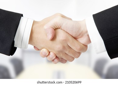 An Image of Handshake