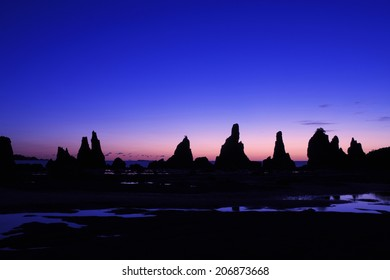 An Image of Hashikui Rock