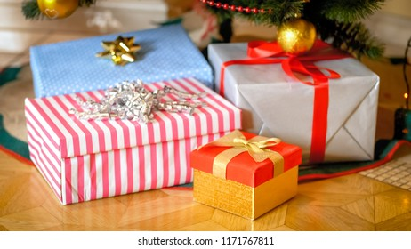 Gifts Under The Tree Images, Stock Photos & Vectors | Shutterstock