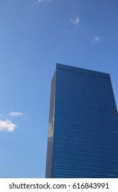 Image High-rise buildings bule sky