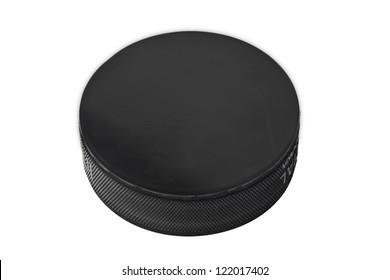 Image of a hockey puck