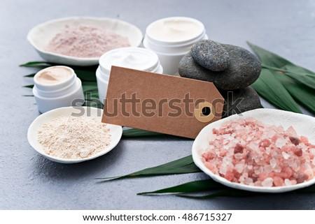 Image Homemade Cosmetics Ingredients Aroma Theme Stock Photo (Edit