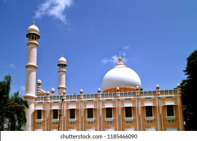 Image of the iconic Palayam Juma Masjid located in the heart of the Indian city of Trivandrum,Kerala