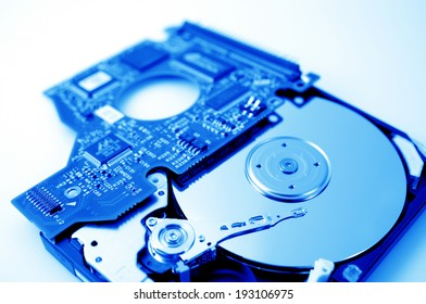 An image of Infrastructure and hard disk