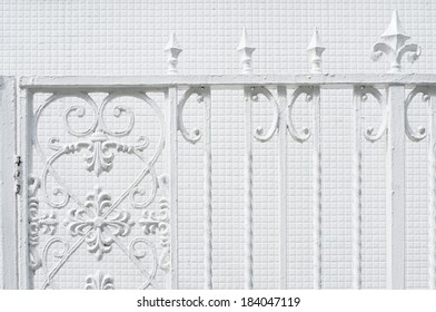 An image of Iron fence
