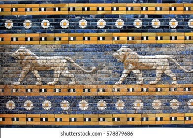 An image of the Ishtar gate, Babylon - Berlin 17/02/13