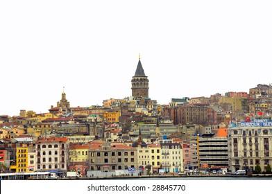 image of Istanbul - Galata Tower / TURKEY