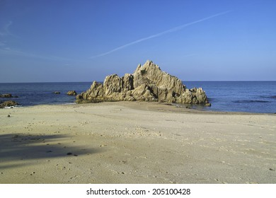 Image Of The Japanese Beach