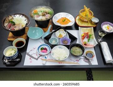 Image Of The Japanese Food Kaiseki dish