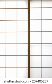 An Image of Japanese-Style Sliding Door