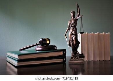 An image of a justitia - justice