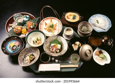 An Image of Kaiseki Dish
