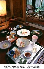 An Image of Kaiseki Meal