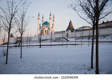 The image of the Kazan Kremlin