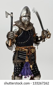 Image of knight who is ready to start battle