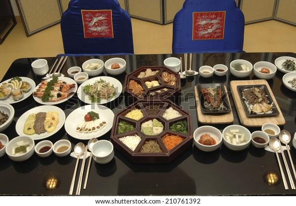 An Image of Korean Food