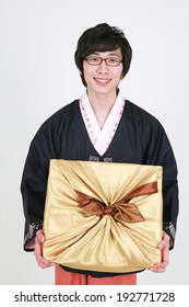 The image of Korean traditional clothes, Asia