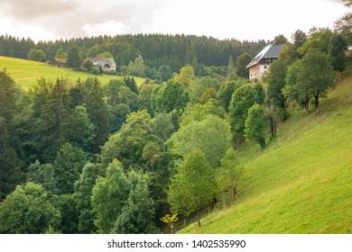 An image of a landscape scenery near Freiburg Breisgau south Germany