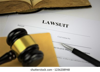 An Image of a lawsuit