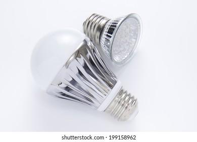 An Image of Led Light Bulb