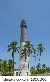 Image of lighthouse in dry tortugas