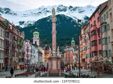 Image of the majestic city of Innsbruck, the heart of Tirol-Austria.