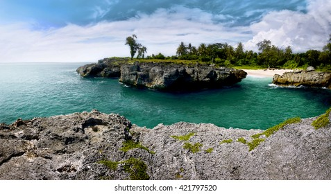 Image of mandorak beach, west sumba, Indonesia