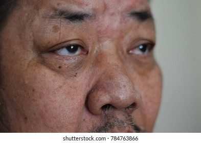 image of a man's face