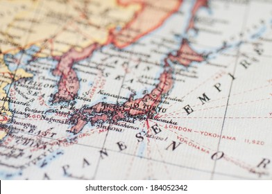 An image of Map of Japan